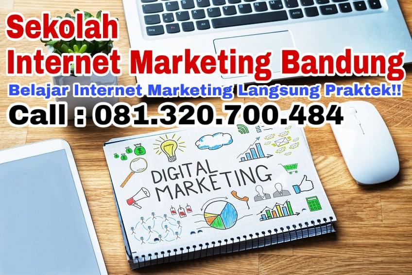 belajar kursus privat sekolah internet marketing pemasaran online di bandung dan cimahi